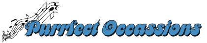 Purrfect Occassions Entertainment Logo